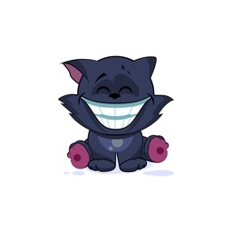 Black Cat - Stickers for iMessage