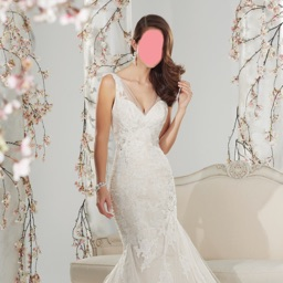 Lovely Wedding Dress Photo Montage