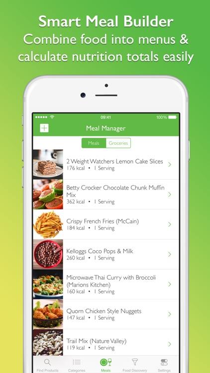 Supermarket Food Nutrition & Calorie Guide