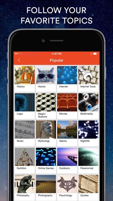 Screenshot 0 for StumbleUpon's iPhone app'