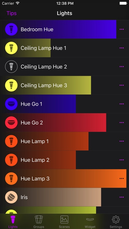 Hue Widget screenshot-2