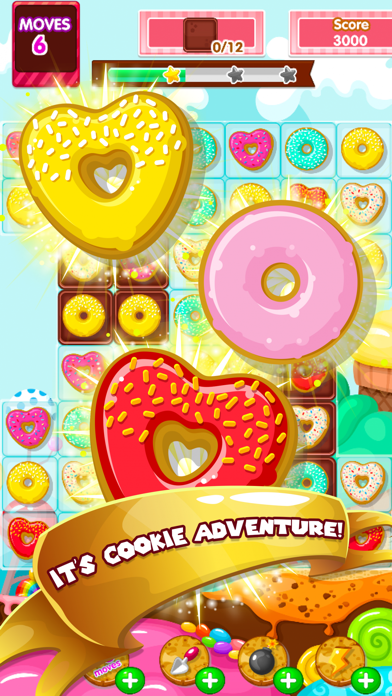 Gummy Wonders Adventure: Amazing Match3 Puzzle Game