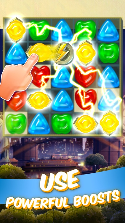 Gummy drop a match 3 puzzle game by big fish games inc for Gummy drop big fish games