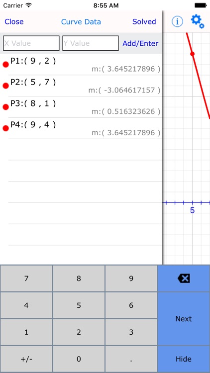 Curve Fitter : graphing calculator made easy