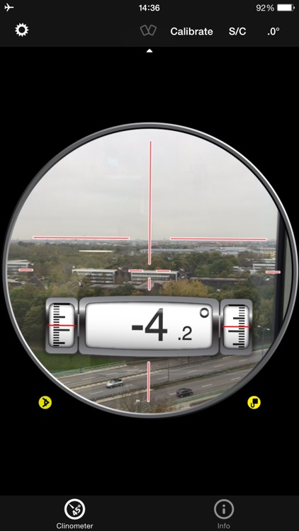 Clinometer + bubble level screenshot-2