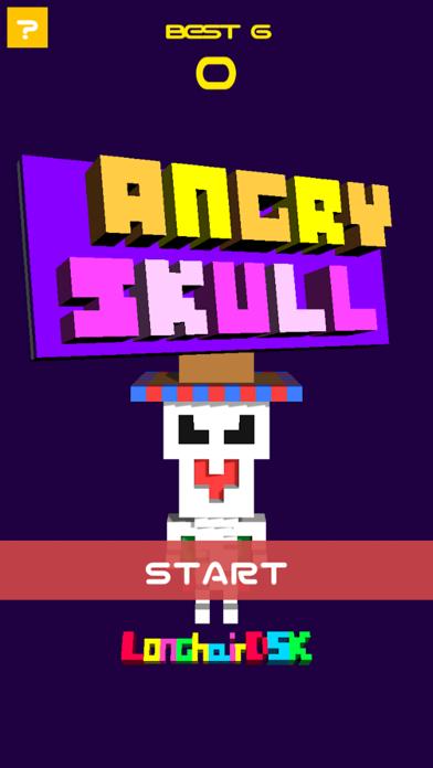 Angry Skeleton screenshot one