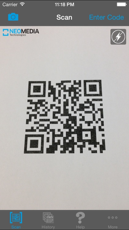 NeoReader®-QR&BarcodeScanner screenshot-0