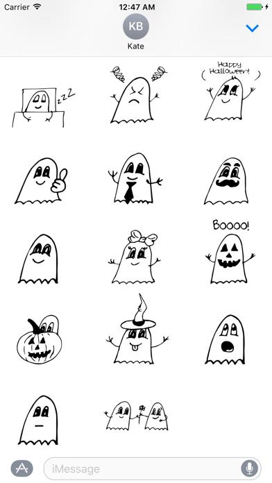 Ghostmoji Doodles screenshot two