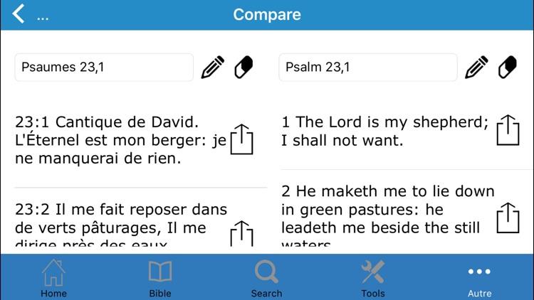 La Sainte Bible en Français  par Louis Segond screenshot-4