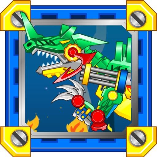 Dinosaur Robot Fighter iOS App
