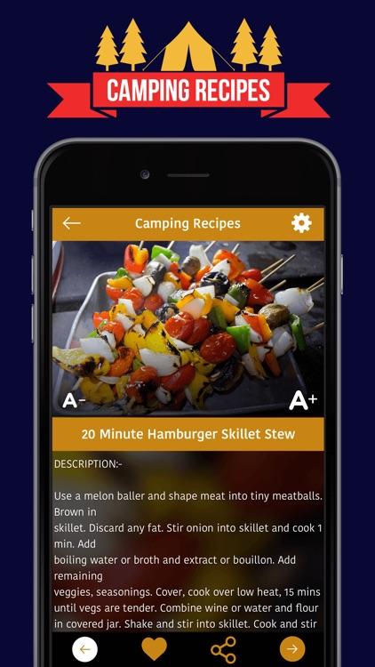 *** Camping Recipes *** screenshot-3