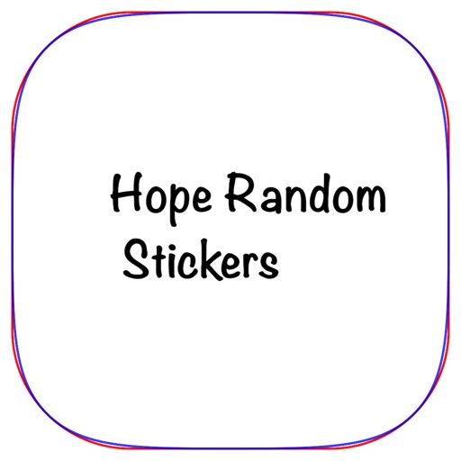 Random Hope Stickers