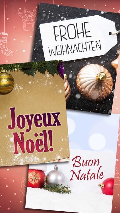 Merry Christmas Greeting Cards & Messages - Pro screenshot-3