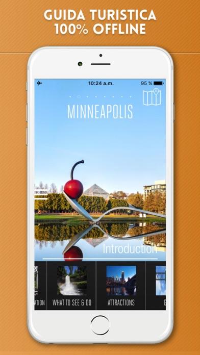 Screenshot of Minneapolis Guida Turistica con Mappe Offline1