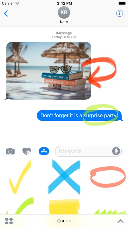 Highlighter sticker pack - stickers for iMessage