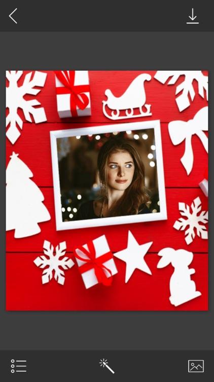 Santa HD Frame - Creative frames Maker