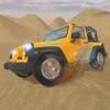 4 × 4 越野吉普车沙漠野生动物园-驾驶 3D sim 卡