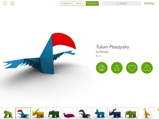 Foldify Zoo - Create & Printのおすすめ画像5