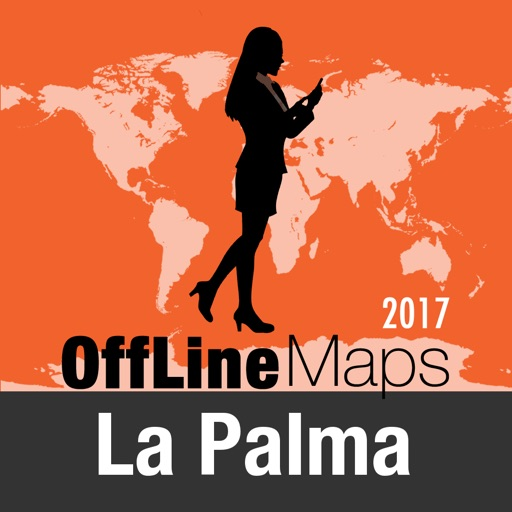 La Palma Offline Map and Travel Trip Guide by OFFLINE MAP ...
