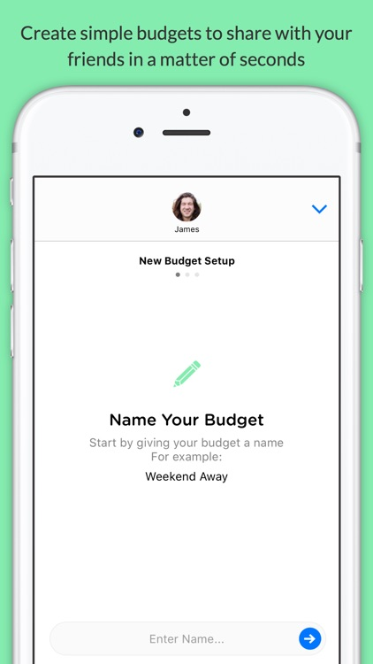 Pennies Mini - Share budgets with your friends screenshot-4