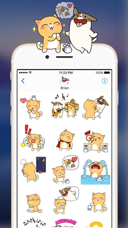 Bella's Love Story - Animated Sticker Set screenshot-0