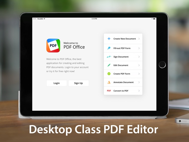 PDF Office - Create, Edit and Annotate PDF screenshot-0