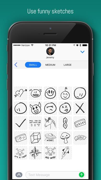 PencilBox: schoolhouse stickers & doodles