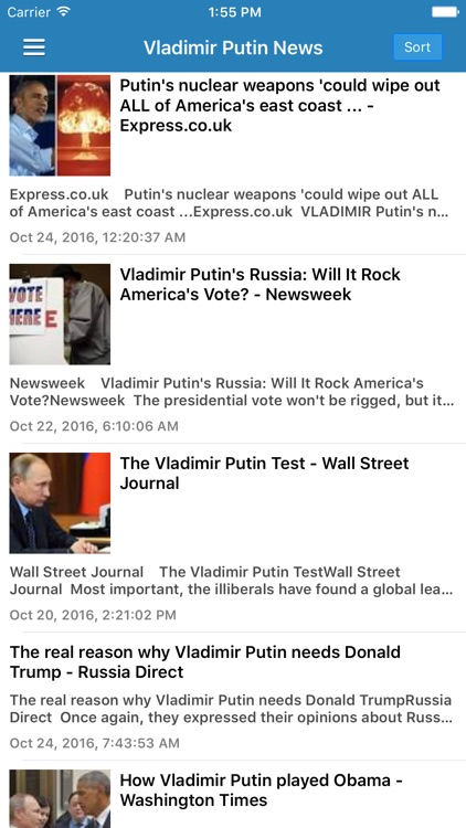 Russia News Today Pro - Latest Breaking Updates screenshot-4
