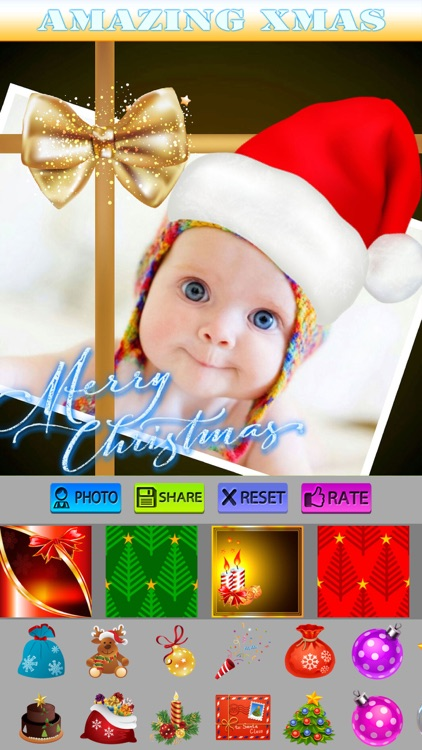 Christmas Stickers and Photo Frames screenshot-4