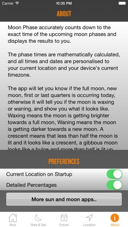 Moon Phase + Professional screenshot-4