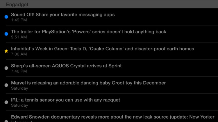 Feeddler RSS Reader Pro 2 screenshot-3