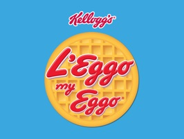 The phone developers wouldn't L'Eggo the waffle emoji so we did