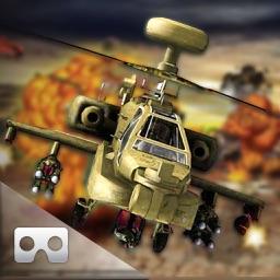 VR Helicopter War-Zone : Gun-ship Covert Attack 3D
