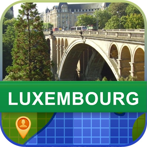 Offline Luxembourg Map - World Offline Maps