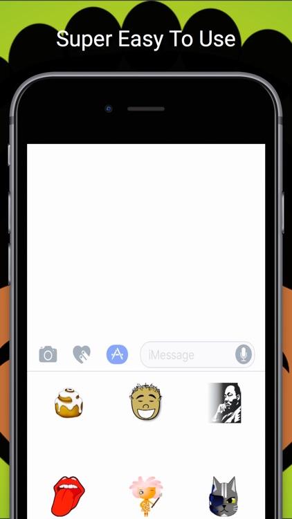 EbonyMojis: Emoji Keyboard App screenshot-3