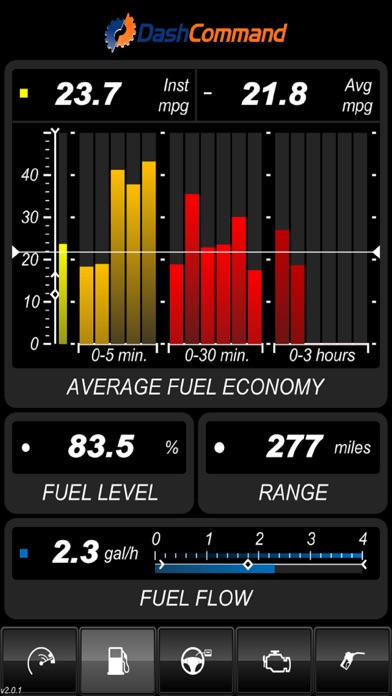 DashCommand - OBD-II gauge dashboards, scan tool, and vehicle diagnostics Screenshot 5
