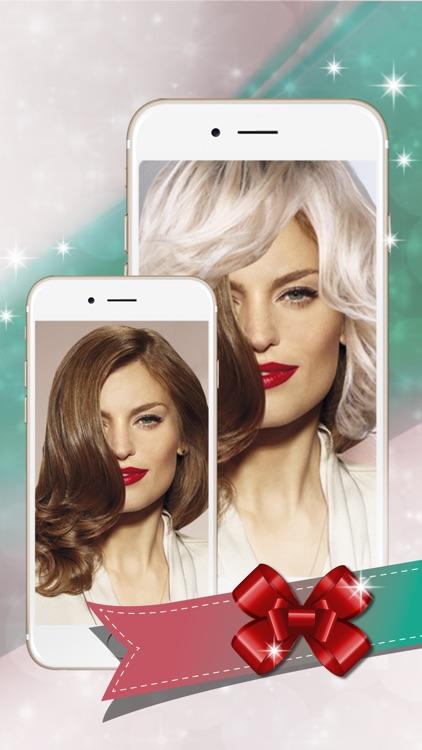 Virtual Hairstyle.s Picture Frames - Hair Salon screenshot-4