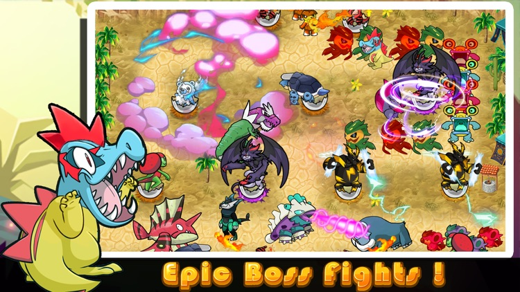 Cutie Monsters Tower Defense-Cute Monster Stickers screenshot-4