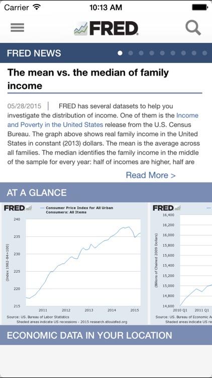 FRED Economic Data screenshot-0