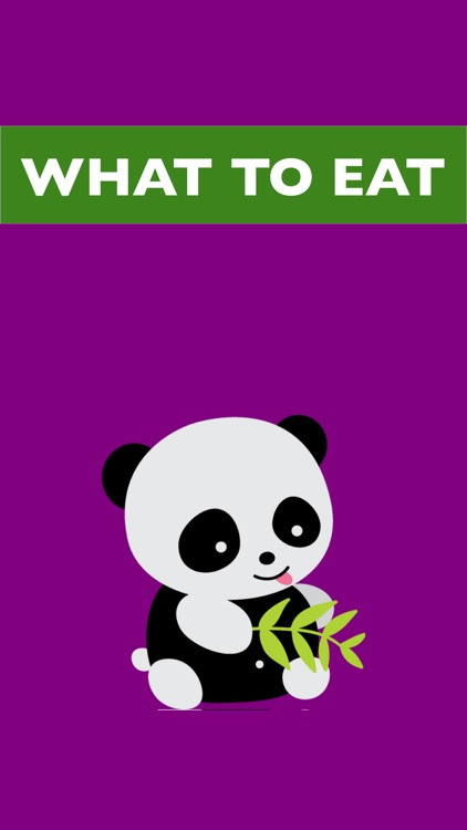 What to Eat Now