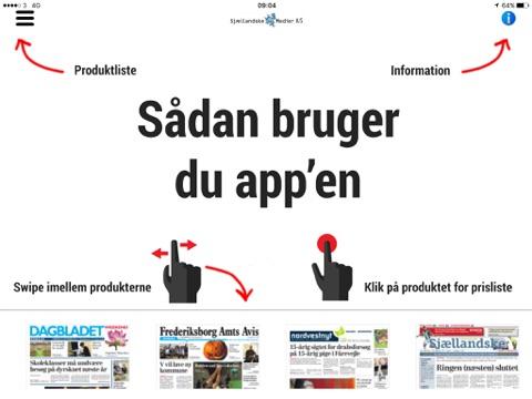 Sjællandske Medier - Produkter og prisliste - náhled