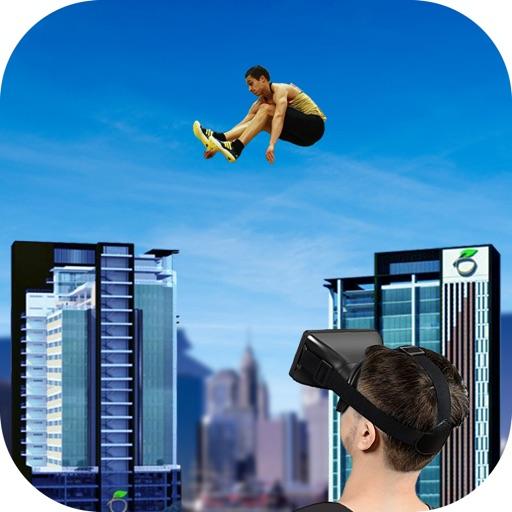 Roof Runner Jump - VR Google Cardboard iOS App