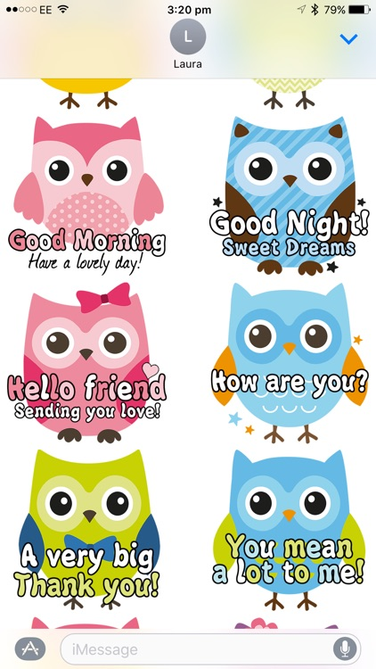 SoCute Owl screenshot-3