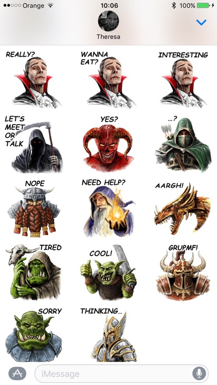 Fantasy Characters: Halloween & Horror Edition