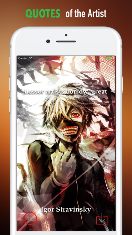 HD Wallpapers for Tokyo Ghoul-Quotes and Pictures screenshot-3