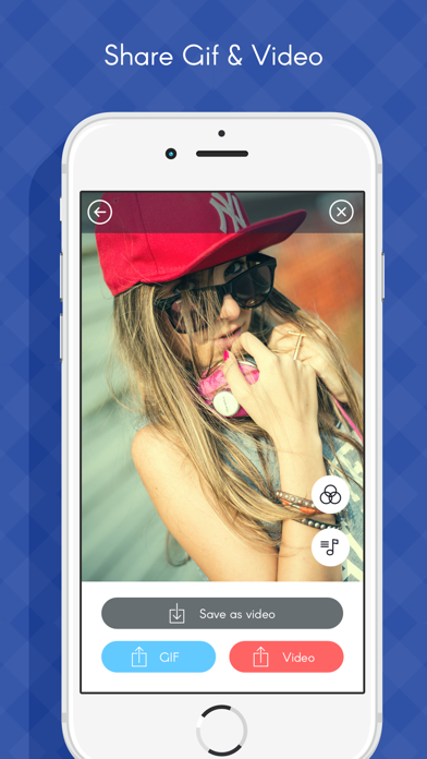 Photos to Gif maker- Social app photo to Gif Maker screenshot four