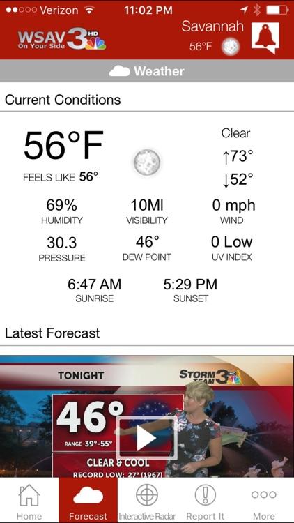 WSAV Mobile - News, weather for Savannah, Georgia