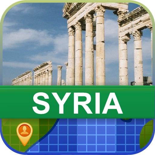 Offline Syria Map - World Offline Maps