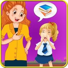 Activities of Kids School Slacking Girls Games