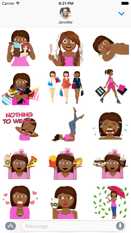 BFF Eve – Fun Girly Emoji
